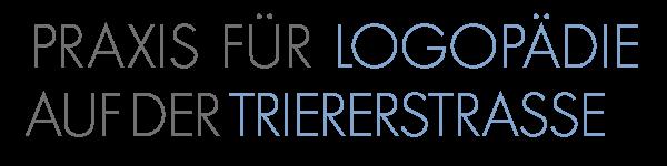 Logopädische Praxis Trierer Straße Logo